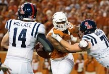 Texas Football vs. Ole Miss [Sept. 14, 2013] / QB Case McCoy throws for 196 yards (24 of 36) and a touchdown and RB Jonathan Gray runs for 91 yards, but No. 25/25 Ole Miss rallies to defeat the Longhorns, 44-23, in Austin. / by Texas Longhorns