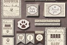 Wild about Baby Shower Inspiration / by One Swell Studio - Cara McGrady
