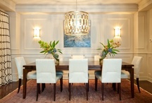 Dining Room and Tablescapes / by Kim Wood