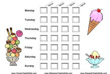 Family Reward Charts / Reward charts for families with more than one child who want to keep record of their children's chores on one chart. / by Reward Charts
