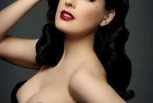 Dita Von Teese / She's lovely. Style, elegance and always so well put together.    ❤️❤️ / by Allira M
