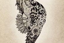 Art / Stuff I like + some project ideas  / by Sarah Maloney