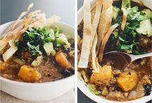 Soups / by Kimberly Bernier