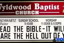 Crazy Church Signs  / by Jayson Pacheco
