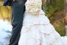 wedding dresses. / by Jenny Larsen
