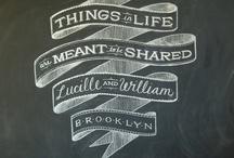 Chalkboards / by Lisa Nemetz