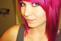 Hair / Fun hairstyles and color / by Carolyn Corlett