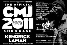 cmj 2011: flyers / by CMJ