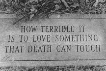 Death / by Mary Long