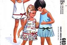 Vintage Patterns: Kids / Vintage children's sewing patterns / by Cosmo