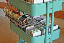 Craft Room Organisation / Ideas to keep organised and productive / by Hope's Quilt Designs