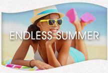 Endless Summer / It's getting cooler, but we believe summer can always be found. Endless Summer is here to inspire you before your next vacation or beach getaway! / by Suave Beauty