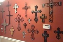 Wall of Crosses-I want!!! / by Sandy Cordova (Kleine)