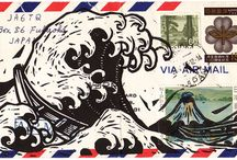 Mail Art / Correspondence Art or the Art of Correspondence / by Pattie Belle Hastings