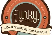 Funky Junk Vintage Flea / Photos from the Funky Junk Vintage Flea held Thursday evenings June-August in Grand Rapids, Michigan. www.FunkJunkFlea.com or facebook.com/funkyjunkvintageflea  / by Grand Events Antique Shows