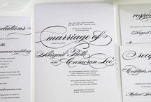 Wedding Paper Goods / by Chelsea Blair
