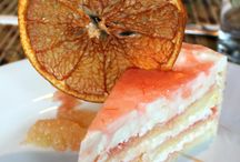 cakes / citrus / by Carol Morgan