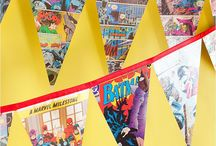Adler's superhero birthday party / by Brooke Cole