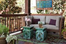 Backyard design ideas / by Lisa Taylor Cadeau