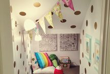 Under the stairs room / by Kaeti McMillan
