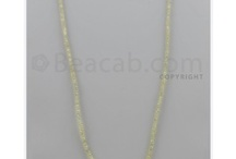 Yellow Diamond Beads / Yellow diamond beads are extremely rare, exclusive and luxurious.  Its popular choice among women's.  Yellow diamonds became popular when celebrities started flaunting them in events. At Beacab yellow diamond beads available with various sizes and shapes. Jewelry maker's checkout latest collection of yellow diamond beads and makes elegant yellow jewelry with jewelry lovers. / by Beacab Gems