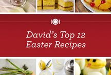 Easter Favorites / Spring has sprung and it's time to eat fresh, delicious foods with the family. / by David Venable QVC