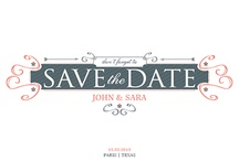 Save the Date / by ModernGreetings.com