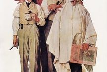 Norman Rockwell / by Kathy Mosley