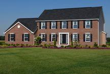 Custom Built Homes: The Williamsburg Legacy / If you're interested in building the Williamsburg Legacy floorplan for your new custom home, visit http://waynehomes.com/plan/williamsburg. / by Wayne Homes
