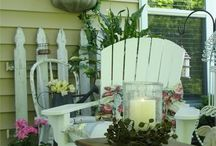 Summer Lovin / I love my porch and my garden.  These great ideas would look amazing back there. / by Debbie-Anne Parent