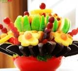 "Frutiko Praha / ""Share happiness – share your tasty Frutiko fruit flower with everyone around!"" / by Frutiko"