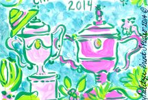{Lilly Pulitzer} Lilly 5x5, Prints & Patterns / by Patricia McKelvy