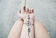 Ink <3 / Tattoos are like stories - they're symbolic of the important moments in your life. / by Jennifer Branch-Wingfield
