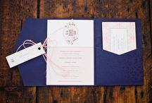 Paper Goodness / Table number, guestbook, and invitation inspiration / by Southern Weddings Magazine