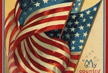 America - Fourth of July, Memorial Day, Flag Day / by Vivian Shiver Wilson