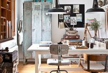 Creative work/play spaces / Evolving work into PLAY!! / by Christina Angel Shunnarah