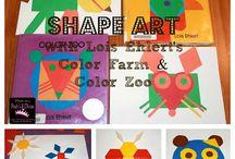 kid stuff - art projects to do together / by Jennifer Eskelsen Jurgens