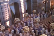 NLC: Real Receptions / Wedding table floral inspirations parties soiree  / by Nancy Liu Chin