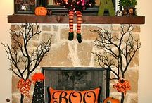 Fireplace decor / by Shelly Hearne
