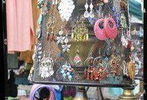 Jewelry Display ideas / by Laura Pazo