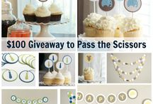 Giveaways! / by Pass The Scissors
