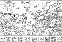 École - Dessins à colorier / by Myriam Brouillette