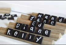 Place Card Holders / by Storkie Express