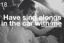 Sing sing sing! / by Eva Kilian