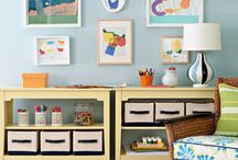 Craft Organizing Tips  / A board for organizing tips, storage ideas, display ideas, and craft centers that rock the family home. / by Molly Hayden Gold