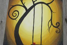 Canvas / I want to have my own painting class... / by Megan White