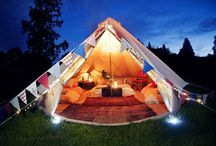 Glamping Trip w/Dogs / by Alexa Michele