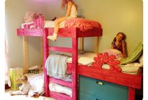 HOME- Girls Shared Room / by Megan Jennings