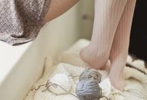 knit & purl. / by annie francesca c