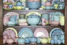 Lu Ray Pastel Dishes  / by Kathi Nees